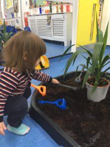 garden-plants-child